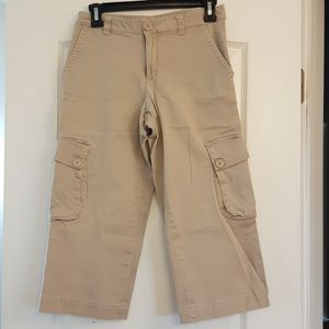 GAP Pants - Gap Cargo Capris